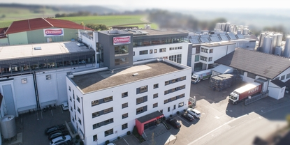 Ehrmann AG, one of Germany' largest dairy producers, places its trust in the Picomag flowmeter