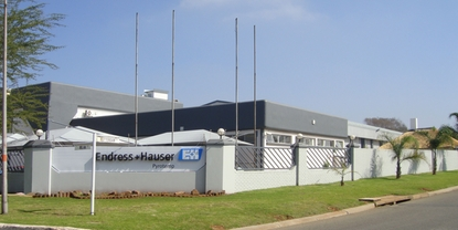 Endress+Hauser Wetzer Pyrotemp in Benoni / South Africa
